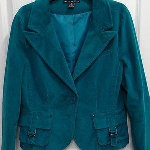 Jackets & Blazers - Larry Levine corduroy blazer!